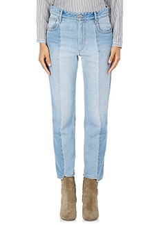 Isabel Marant Étoile Women's Clancy Notched Crop Jeans