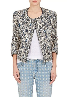 Isabel Marant Étoile Women's Hustin Quilted Cotton-Linen Jacket