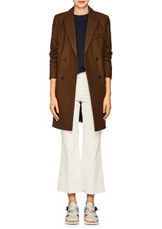 Isabel Marant Étoile Women's Iken Wool-Blend Felt Double-Breasted Coat