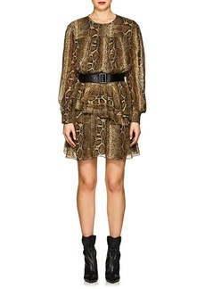 Isabel Marant Étoile Women's Java Silk Chiffon Minidress
