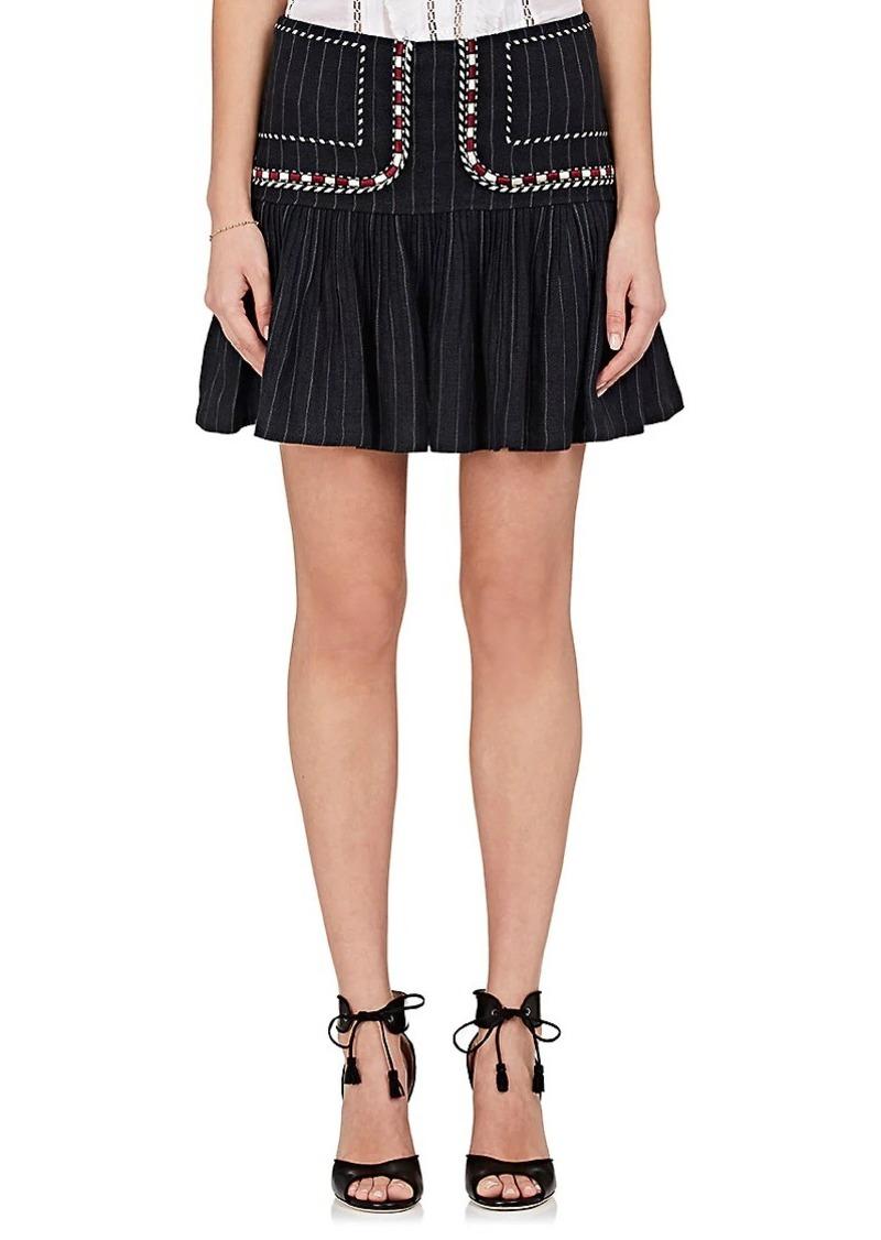 4935387286c22 Isabel Marant Isabel Marant Étoile Women's Jessie Linen Miniskirt ...