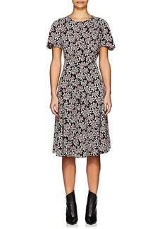 Isabel Marant Étoile Women's Lexia Abstract-Print Crepe A-Line Dress