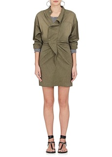 Isabel Marant Étoile Women's Lindsey Cotton-Blend Shirtdress