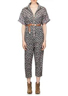 Isabel Marant Étoile Women's Lindsie Cotton Voile Jumpsuit