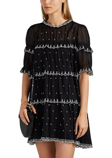 Isabel Marant Étoile Women's Lyin Embroidered Cotton Dress