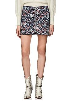 Isabel Marant Étoile Women's Marily Reversible Linen Miniskirt