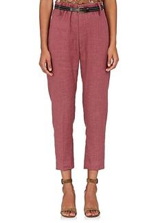 Isabel Marant Étoile Women's Oah Linen-Blend Pants