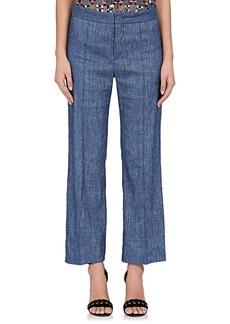 Isabel Marant Étoile Women's Oxy Linen-Blend Flared Pants