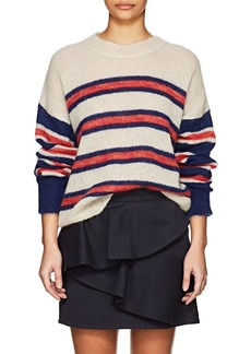 Isabel Marant Étoile Women's Russel Striped Mohair-Blend Sweater