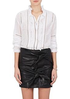 Isabel Marant Étoile Women's Valda Cotton-Blend Gauze Blouse