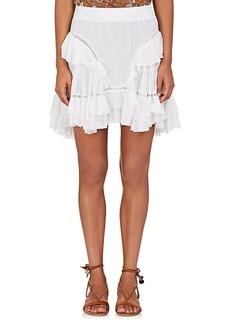 Isabel Marant Étoile Women's Varese Cotton-Blend Miniskirt