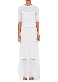 Isabel Marant Étoile Women's Vealy Cotton-Blend Gauze Maxi Dress