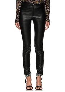 Isabel Marant Étoile Women's Zeffrey Stretchy Faux-Leather Leggings