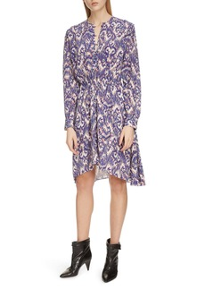 Isabel Marant Étoile Yandra Long Sleeve Silk Dress
