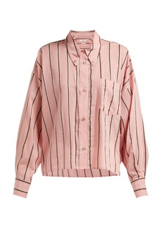 Isabel Marant Étoile Ycao striped cotton-blend shirt