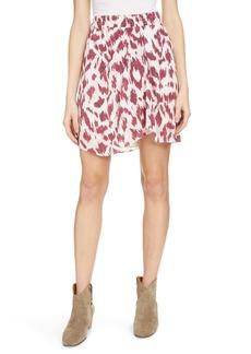 Isabel Marant Étoile Yegart Asymmetrical Silk Miniskirt
