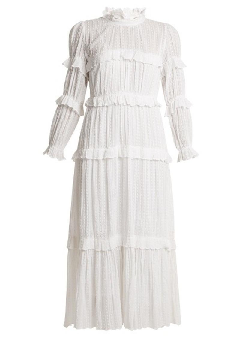 69b9d37e728cb Isabel Marant Isabel Marant Étoile Yukio tiered maxi dress