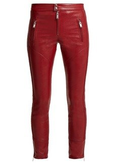 Isabel Marant Étoile Zappery faux-leather trousers