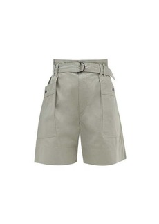 Isabel Marant Étoile Zayna cotton-twill cargo shorts