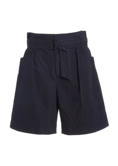 Isabel Marant Étoile Zayna Faded Cotton Shorts