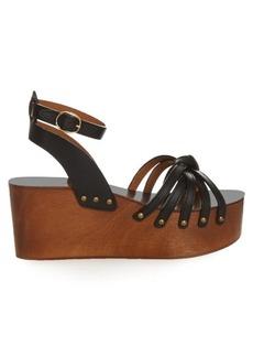 Isabel Marant Étoile Zia leather wedges