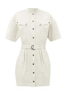 Isabel Marant Étoile Zolina belted cotton shirt dress