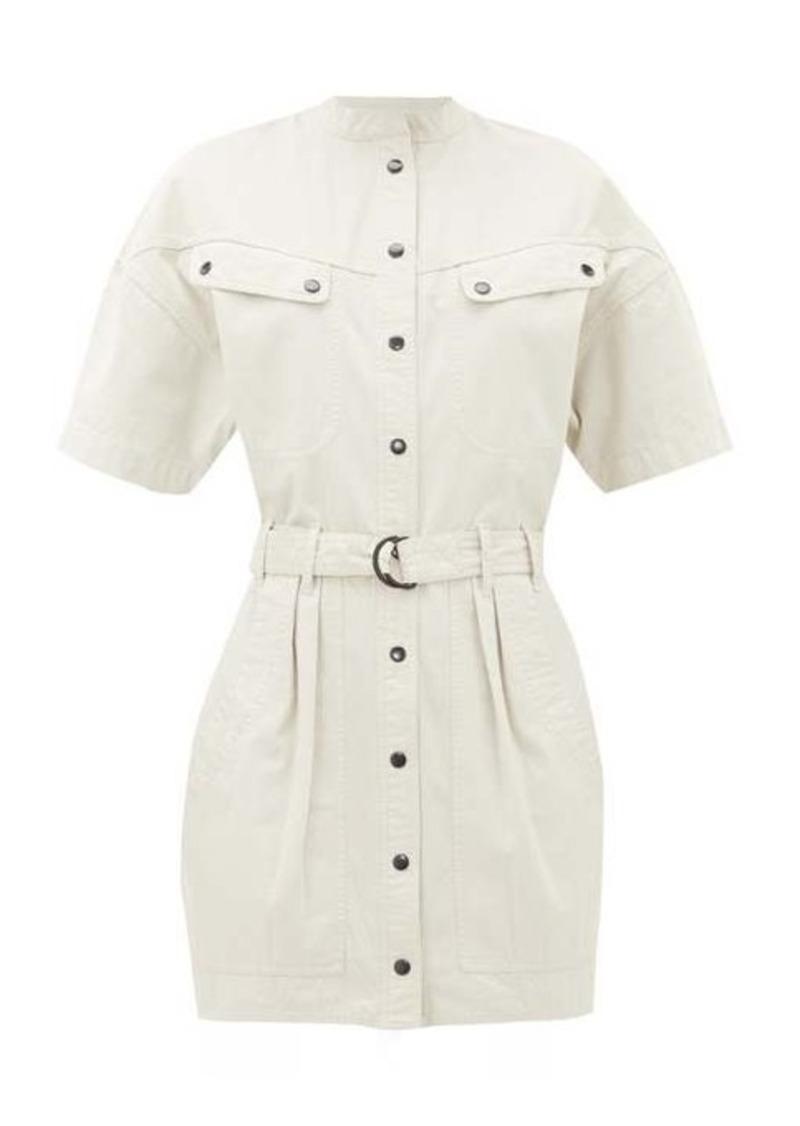 Isabel Marant Étoile Zolina belted cotton shirtdress
