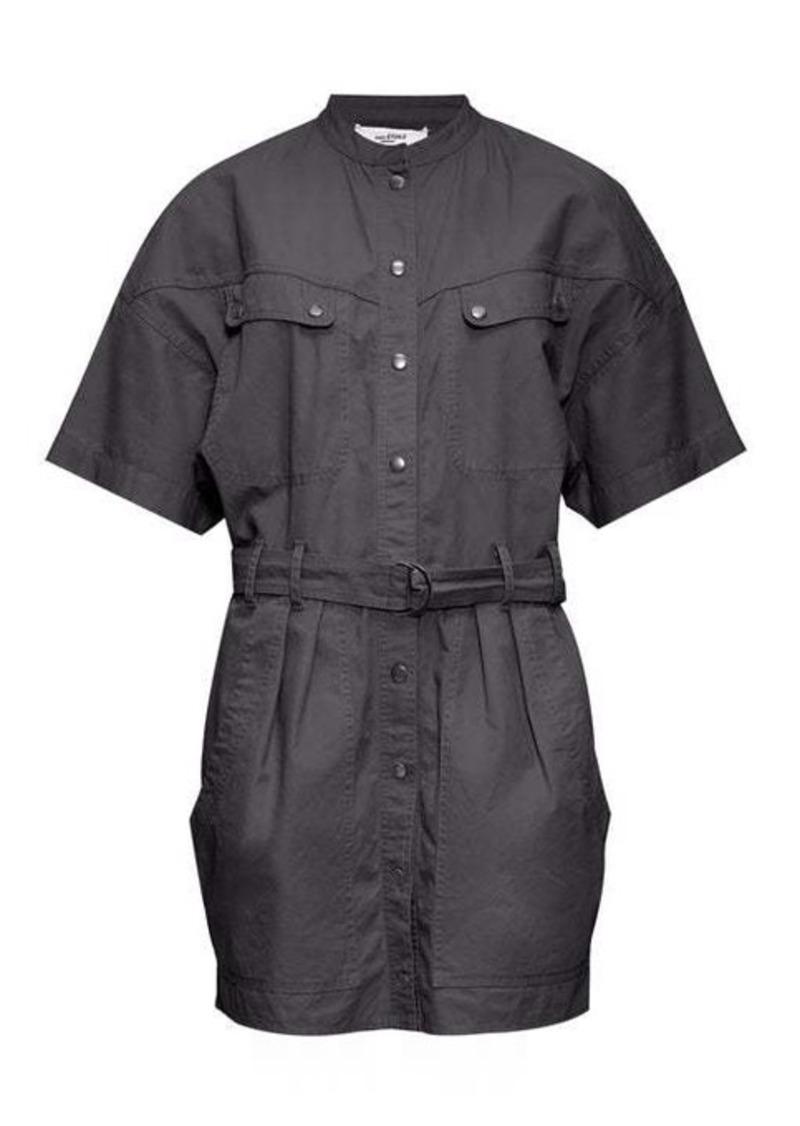 Isabel Marant Étoile Zolina belted cotton-canvas shirtdress