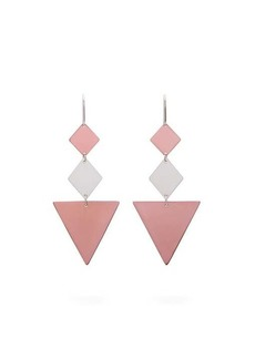 Isabel Marant Triangle drop earrings