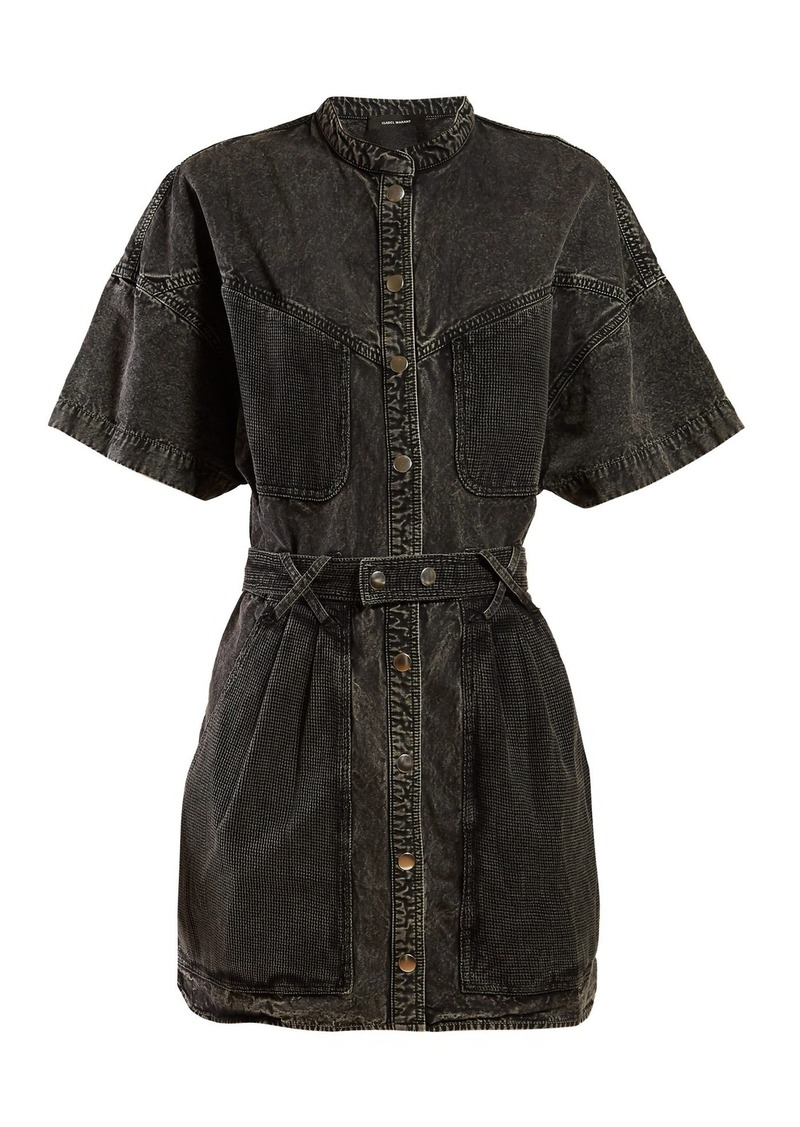 6fa5330edcd Isabel Marant Isabel Marant Trudy washed-denim mini dress