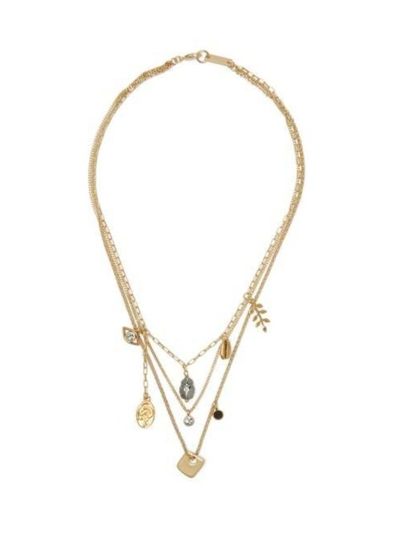 Isabel Marant Vedette charm necklace