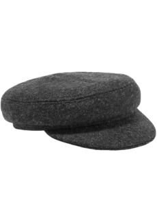 Isabel Marant Woman Evie Wool-blend Felt Cap Anthracite