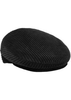 Isabel Marant Woman Gabor Cotton-corduroy Cap Black