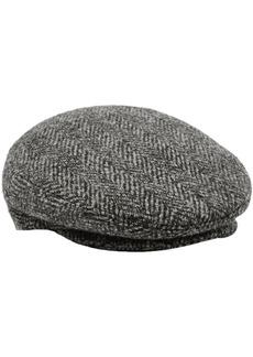 Isabel Marant Woman Gabor Herringbone Wool-tweed Cap Gray