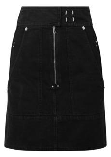 Isabel Marant Woman Natalia Denim Mini Skirt Black