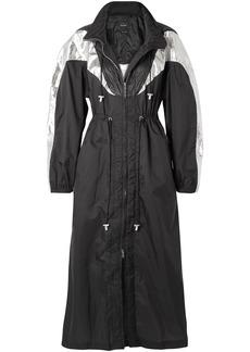 Isabel Marant Woman Rumber Two-tone Shell Hooded Jacket Black