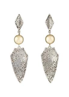 Isabel Marant Women's Arrowhead Drop Earrings - Silver