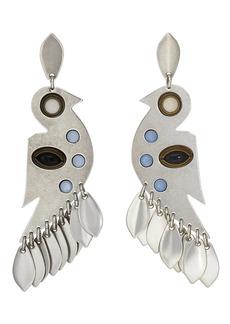 Isabel Marant Women's Bird Drop Earrings - Silver