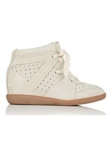 Isabel Marant Women's Bobby Suede Wedge Sneakers