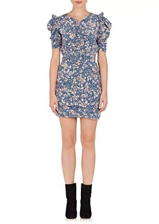 Isabel Marant Women's Brizia Floral Silk-Blend Dress