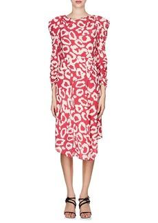 Isabel Marant Women's Carley Silk Crêpe De Chine Dress