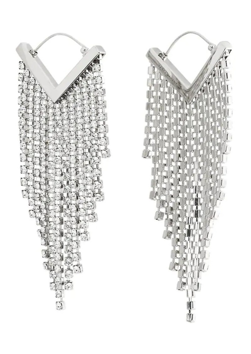 Isabel Marant Women's Crystal Chandelier Earrings - Silver