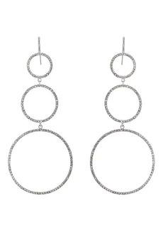 Isabel Marant Women's Crystal Triple-Drop Earrings