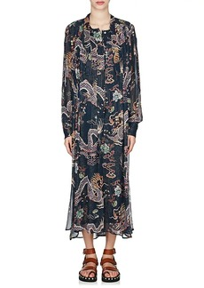 Isabel Marant Women's Dalika Silk Georgette Dress