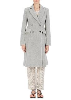 Isabel Marant Women's Danki Alpaca-Wool Double-Breasted Coat