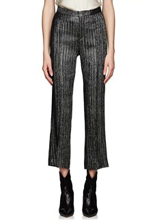 Isabel Marant Women's Denlo Metallic Striped Trousers