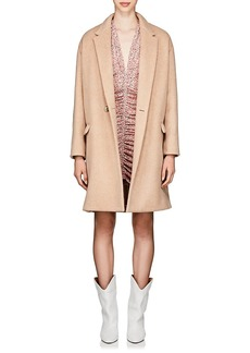 Isabel Marant Women's Filipo Brushed Wool-Cashmere Cocoon Coat