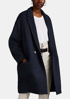 Isabel Marant Women's Filipo Oversized Wool-Blend Double-Breasted Coat