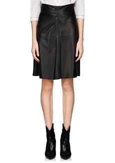 Isabel Marant Women's Gladys Leather Skirt
