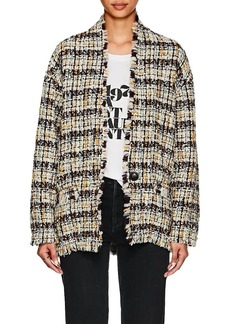 Isabel Marant Women's Iliana Wool Bouclé Tweed Coat